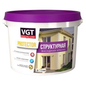 Структурная краска для наружных и внутренних работ PROTECTOR.
